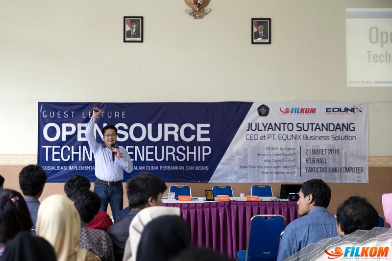 Kuliah Tamu Opensource Technopreneurship Bersama