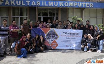 Cisco Academic Visit Universiti Teknologi