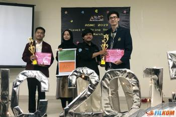 Mahasiswa FILKOM 1st Winner Speech