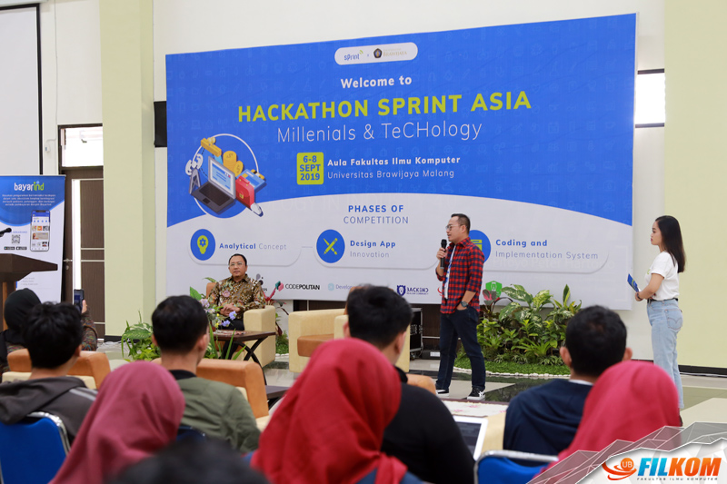 FILKOM UB bersama Sprint Asia