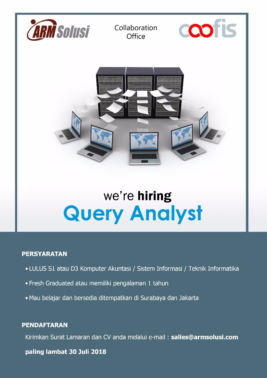 26_Loker_Query_analyst_ARM_Solusi