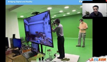 Webinar Immersive Media Technology oleh